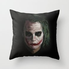 Joker1 Throw Pillow