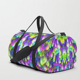 Colorful digital art splashing G392 Duffle Bag