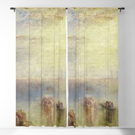 Joseph Mallord William Turner - Approach to Venice Blackout Curtain