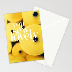 You Are Sew Lovely Stationery Cards