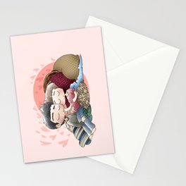 Bun's In The Oven Stationery Cards