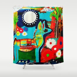 Mexican Love Shower Curtain