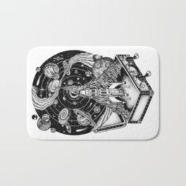 Cosmos Space Travel Bath Mat