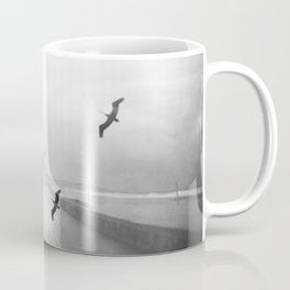 """Birds of a Feather"" Holga Double Exposure in San Diego, California Coffee Mug"