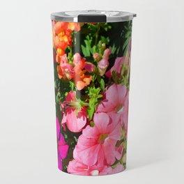 Mixed Flowers Travel Mug