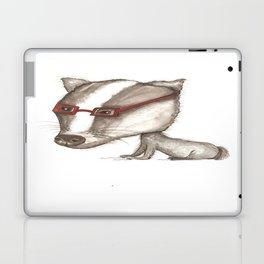 NORDIC ANIMAL - BENITO THE  BADGER / ORIGINAL DANISH DESIGN bykazandholly  Laptop & iPad Skin