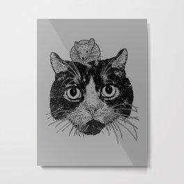 Unusual Friendship  Metal Print