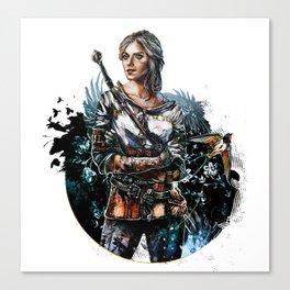 Ciri 2 - The Witcher Wild Hunt  Canvas Print