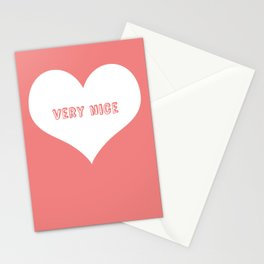 """Very Nice"" Stationery Cards"