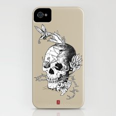 Skull one A Slim Case iPhone (4, 4s)