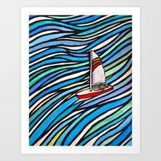 Wind Over Water Art Print