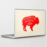 the national Laptop & iPad Skins featuring Yellowstone National Park  by Terry Fan