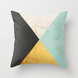 Art with marble III Throw Pillow