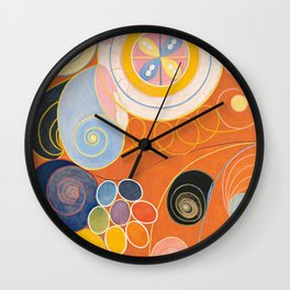 The Ten Largest, Group IV, No.4 by Hilma af Klint Wall Clock