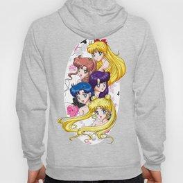 Sailor Senshi - Uncovered (Original Anime Color) Hoody