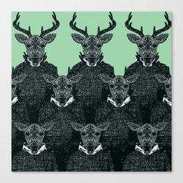 Chorus of Deer Canvas Print