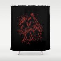 assassins creed Shower Curtains featuring Assassins by LitYousei