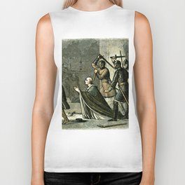 Murder of Thomas Becket Biker Tank