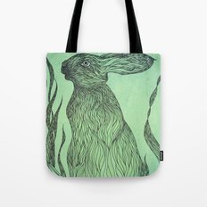 Hiding in the green Tote Bag