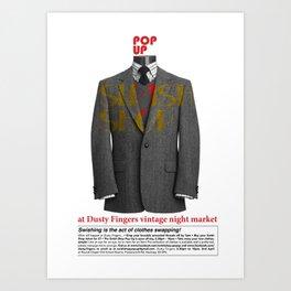 Swish Poster event held in Hackney Art Print