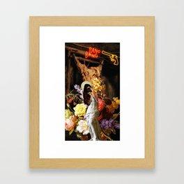 Venus de Milo Selfie. Framed Art Print