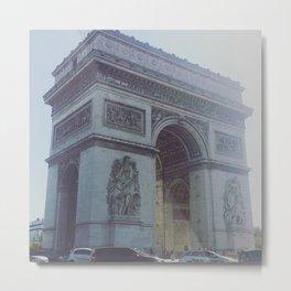 L'Arc de Triomphe Metal Print