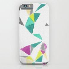 watercolor geometry  Slim Case iPhone 6s
