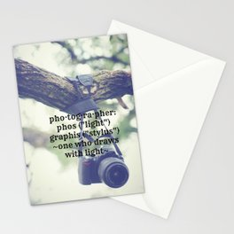 Photographer Definition Stationery Cards