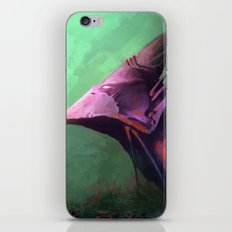 Ancient bird iPhone & iPod Skin