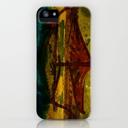 An ancient ship iPhone Case