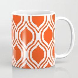 Ogee Florida University silhouette orange and blue pattern sports football college gators gator fan Coffee Mug