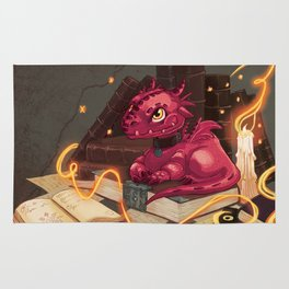 The Dragon Library Rug