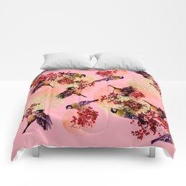 Little Blue Birds Comforters