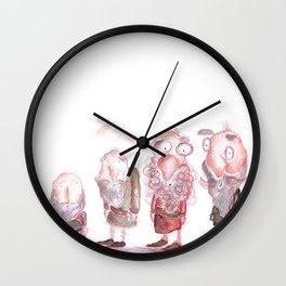 Vintage Cute Old men Wall Clock