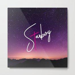 Starboy Sky Metal Print