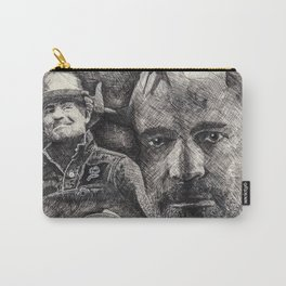Gord Downie  Tribute Pen & Ink Drawing Carry-All Pouch