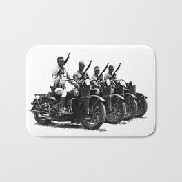 Four Horsemen Bath Mat