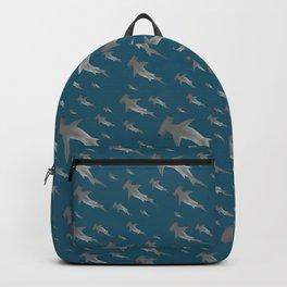 Hammerhead shark school Backpack