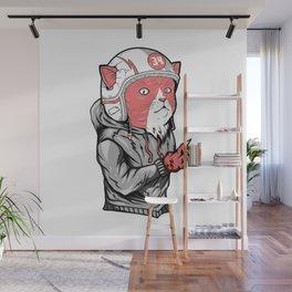 Race Cat furniture Design by diegoramonart Wall Mural