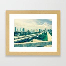 Second Bend Framed Art Print