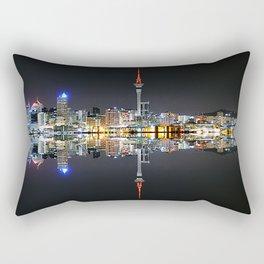 Auckland City at Night Rectangular Pillow