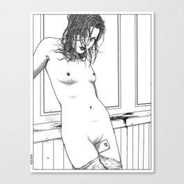asc 595 - Les amatrices II (Sketchwork) Canvas Print