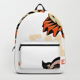 Smile Halloween is Here Backpack