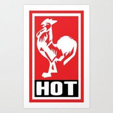HOT HOT HOT Art Print
