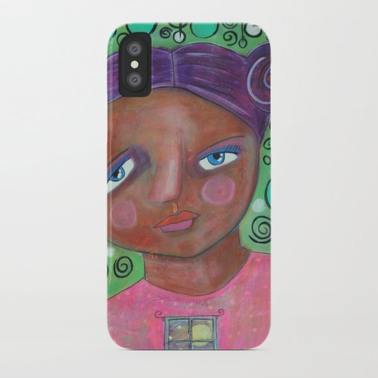 Let the Moonlight In iPhone Case