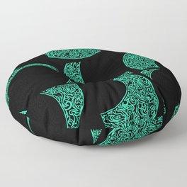 Emerald Solstice Floor Pillow