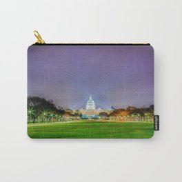 The Capitol Building At Night Carry-All Pouch
