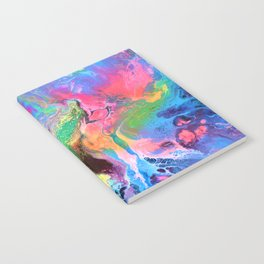 Beautiful Happy Abstract Painting Notebook