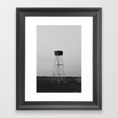Lookout Framed Art Print
