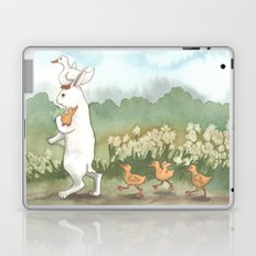 Helping with the Ducklings Laptop & iPad Skin